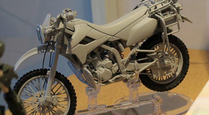 リトルアーモリー 1/12 陸上自衛隊 偵察用オートバイ カワサキ KLX250 [LM001] 模型ホビーショー2016