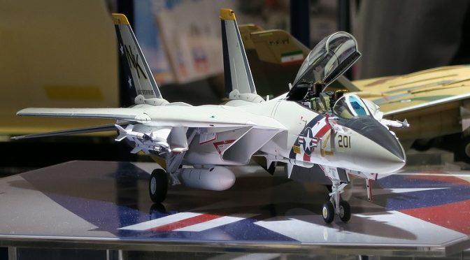 タミヤ 1/48 傑作機シリーズ グラマン F-14A トムキャット 模型ホビーショー2016