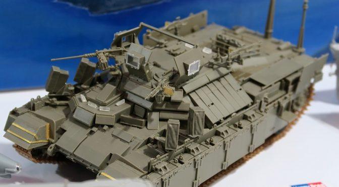 ホビーボス 1/35 イスラエル装甲歩兵戦車ナグマホン 模型ホビーショー2016