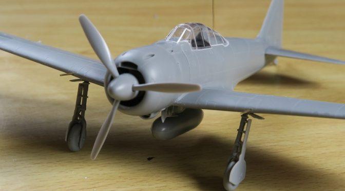 タミヤ 1/72 零式艦上戦闘機 22型/22型甲 レビュー