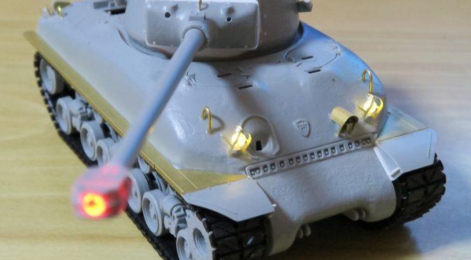 ドラゴン 1/35 スーパーシャーマン M51 その2 ラジコンの移植