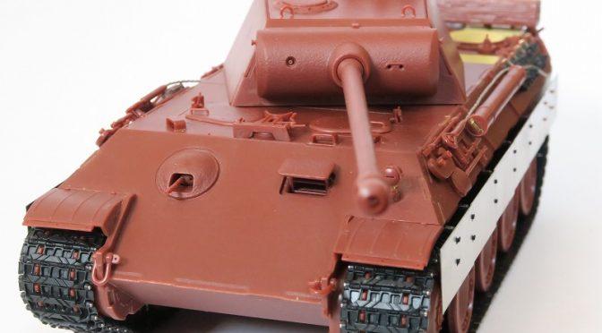 モンモデル 1/35 パンターA後期型 レビュー