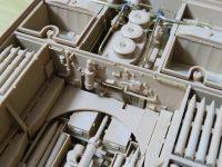 ライフィールド フルインテリア ティーガー1 レビュー その10 砲弾ラックと手すり
