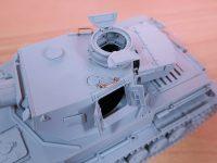1/35 ドラゴン IV号戦車 F1型 レビュー その5 OVMの取り付け、開閉可動