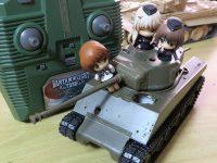 アスカモデル シャーマン 戦車模型のラジコン化 その1 VSタンクの埋め込み