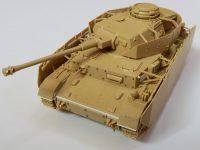 タミヤ 1/48 4号戦車H型(後期型)ガールズ&パンツァー風改造レビュー