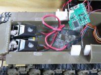 アスカモデル シャーマン 戦車模型のラジコン化 その4 モーター変更