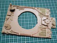 ライフィールド フルインテリア ティーガー1 レビュー その7 OVMの取り付け、ダメージ表現